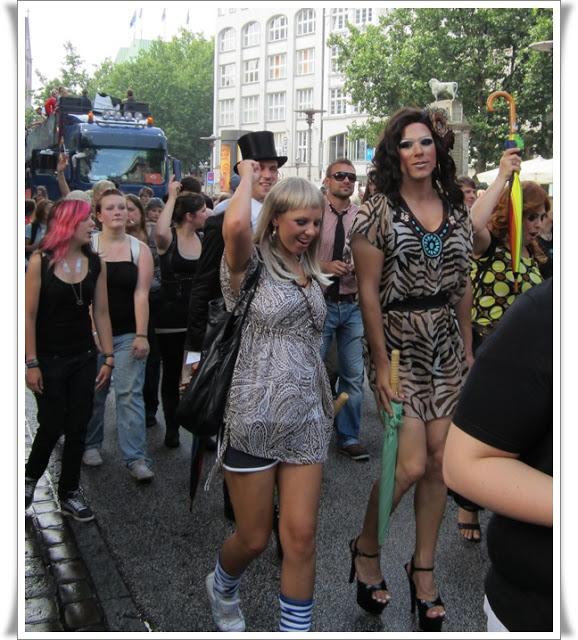 Christopher Street Day Hamburg + Info zur Fundgrube 69