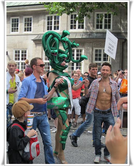 Christopher Street Day Hamburg + Info zur Fundgrube 78