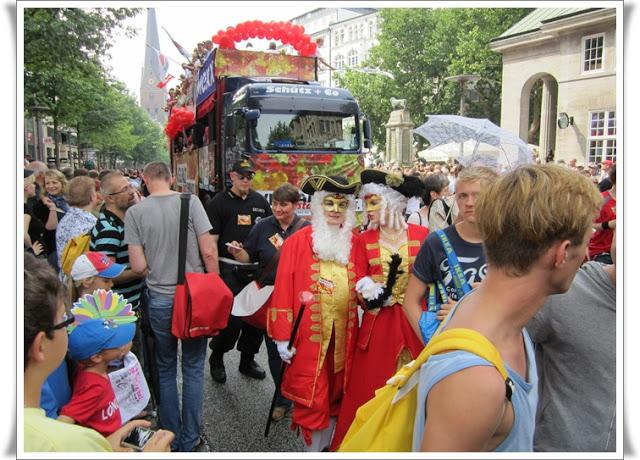 Christopher Street Day Hamburg + Info zur Fundgrube 80
