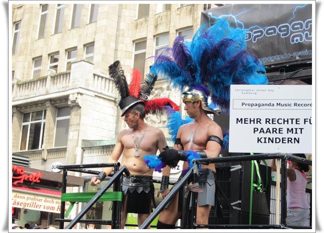 Christopher Street Day Hamburg + Info zur Fundgrube 83