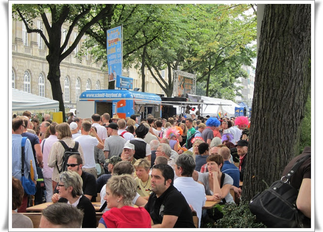 Christopher Street Day Hamburg + Info zur Fundgrube 91