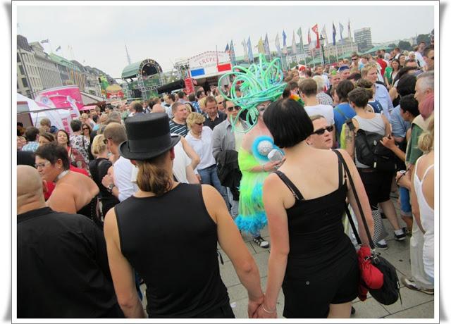 Christopher Street Day Hamburg + Info zur Fundgrube 92
