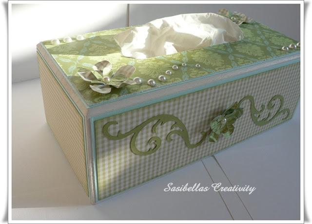 Kosmetiktücher Box + Gast-DT 17