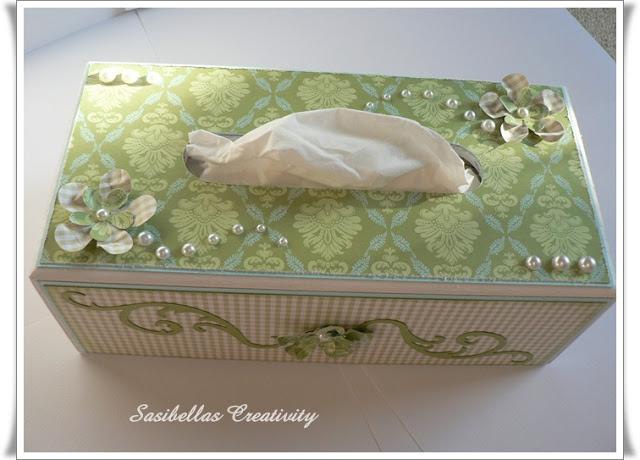 Kosmetiktücher Box + Gast-DT 20