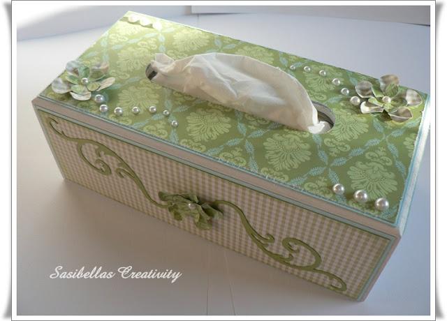 Kosmetiktücher Box + Gast-DT 15