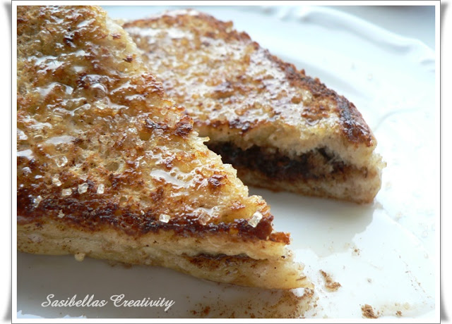Reiche Ritter /French Toast with Nutella Filling 1