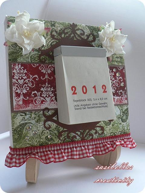 Weihnachtsgeschenke für die Kita Erzieherinnen und ein selbstgemachter Kalender 21