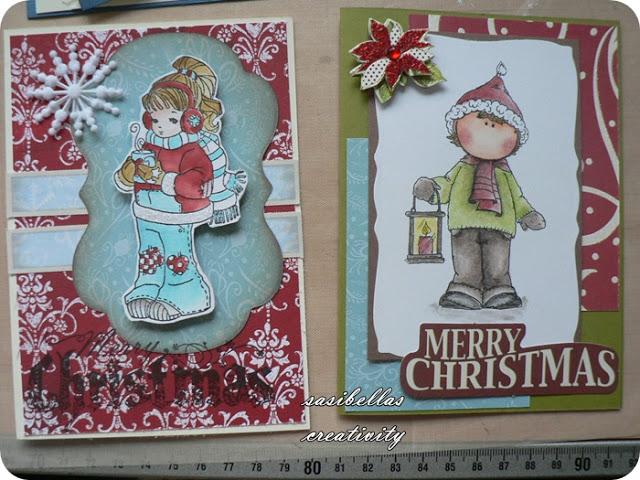 Weihnachtsgeschenke für die Kita Erzieherinnen und ein selbstgemachter Kalender 24