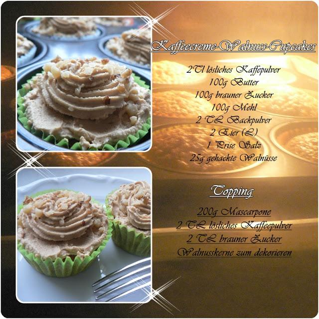Kaffeecreme Walnuss Cupcakes 1