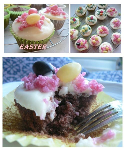 """Red Velvet bzw. Rote Samt Cupcakes"" 13"
