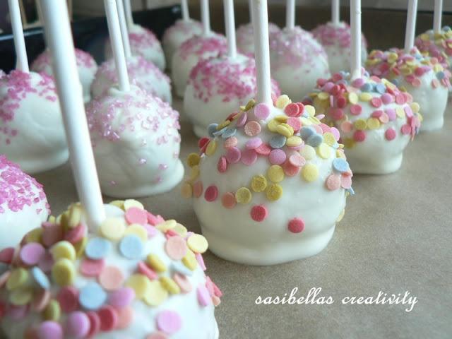 Sonntagssüß - Schoko Cake Pops 17
