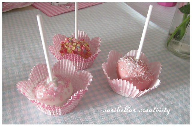 Sonntagssüß - Schoko Cake Pops 1