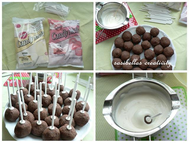 Sonntagssüß - Schoko Cake Pops 2
