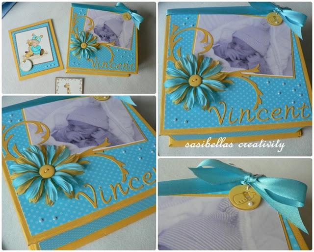 Kreativer Freitag # 7 Baby-Box aus Graupappe 10