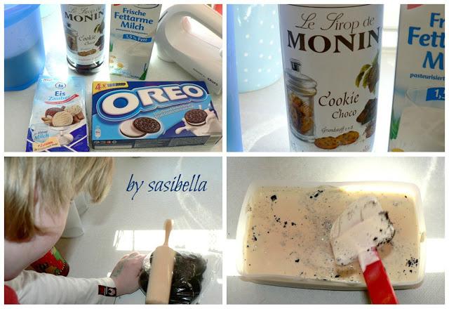 Sonntagssüß -  Cookie Choco Eis mit Oreo Stückchen 8