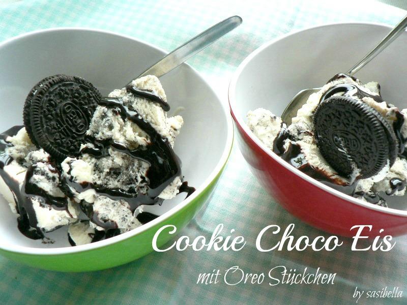 Sonntagssüß -  Cookie Choco Eis mit Oreo Stückchen 7