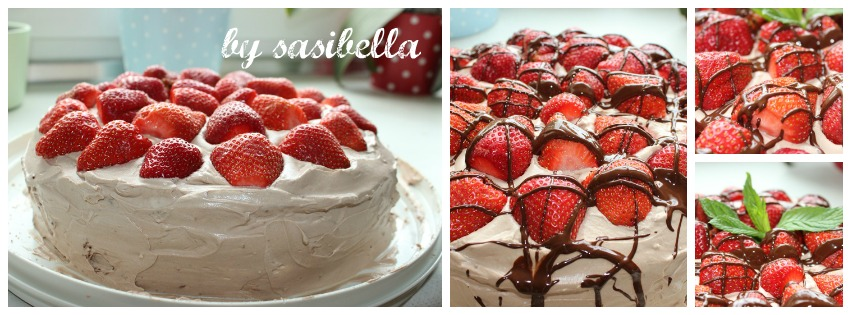 Sonntagssuss Erdbeertorte Mit Nutella Creme Sasibella
