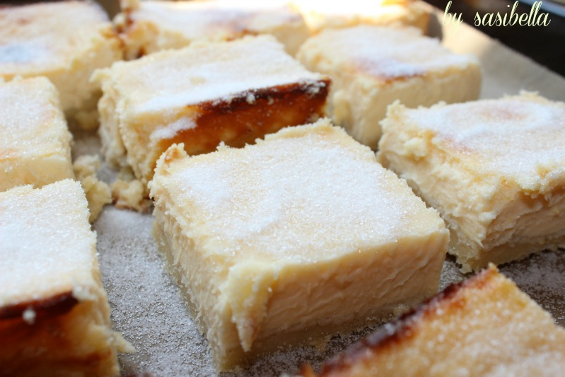 Lemon Creme Brulee Cheesecake Bars 15