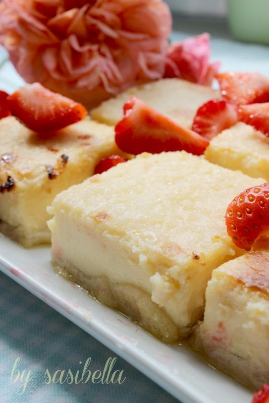 Lemon Creme Brulee Cheesecake Bars 17
