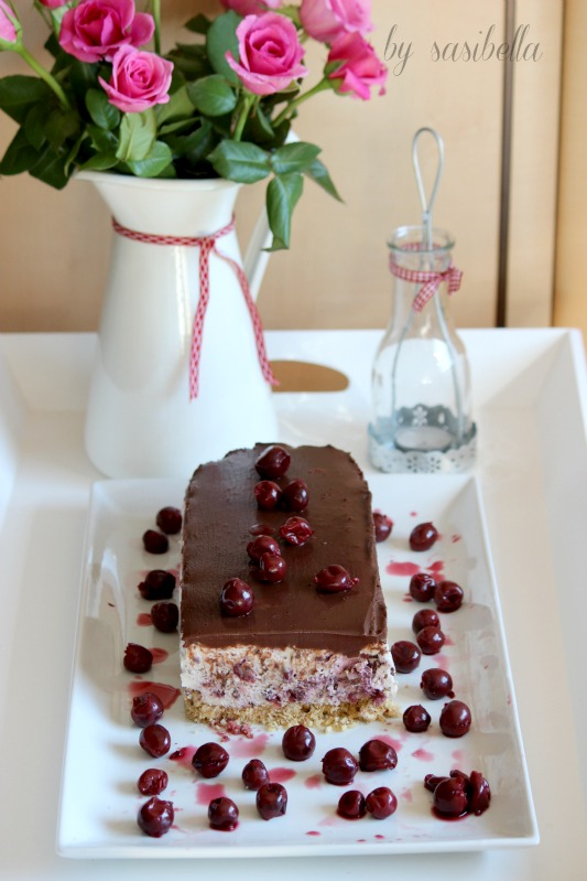 Kirsch-Stracciatella-Kuchen 3