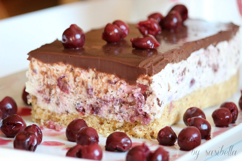 Kirsch-Stracciatella-Kuchen 1