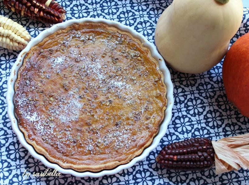 Kürbis Pie mit Walnüssen 20