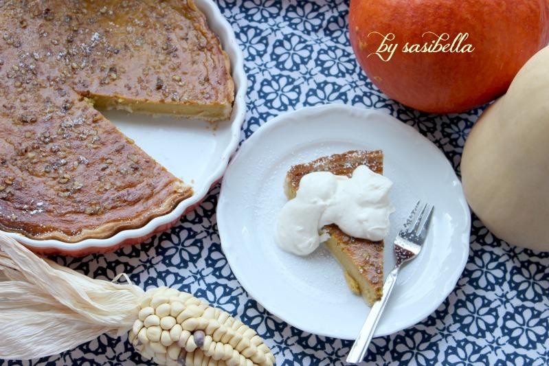 Kürbis Pie mit Walnüssen 17