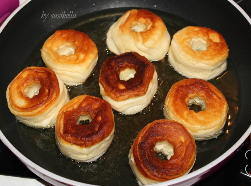 Sonntagssüß - Schnelle Donuts 18