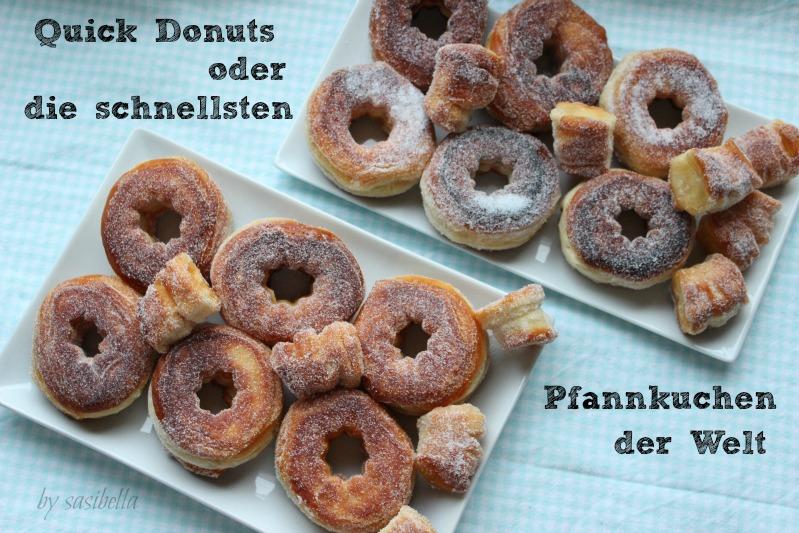 Sonntagssüß - Schnelle Donuts 16
