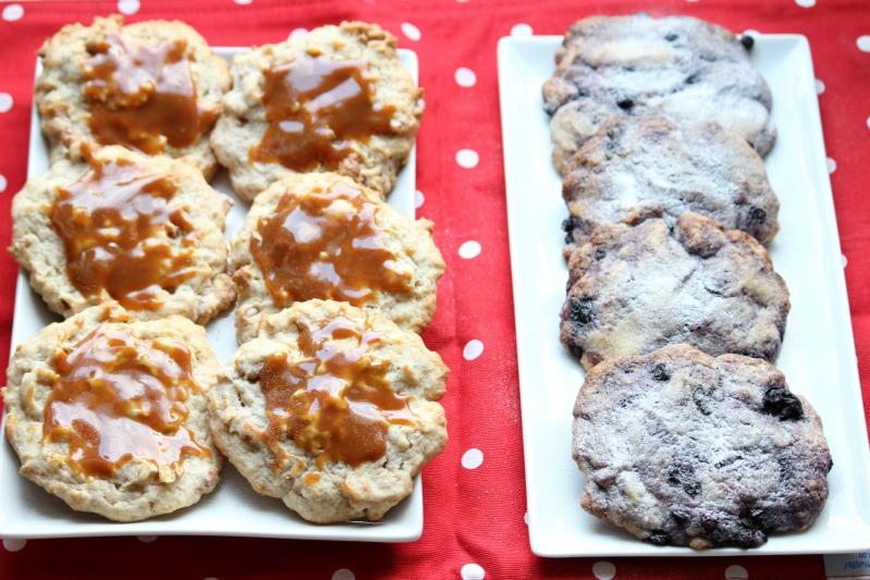 """""""Lecker(e)"""" Cookies - Blaubeere und Banane/Walnuss 19"""