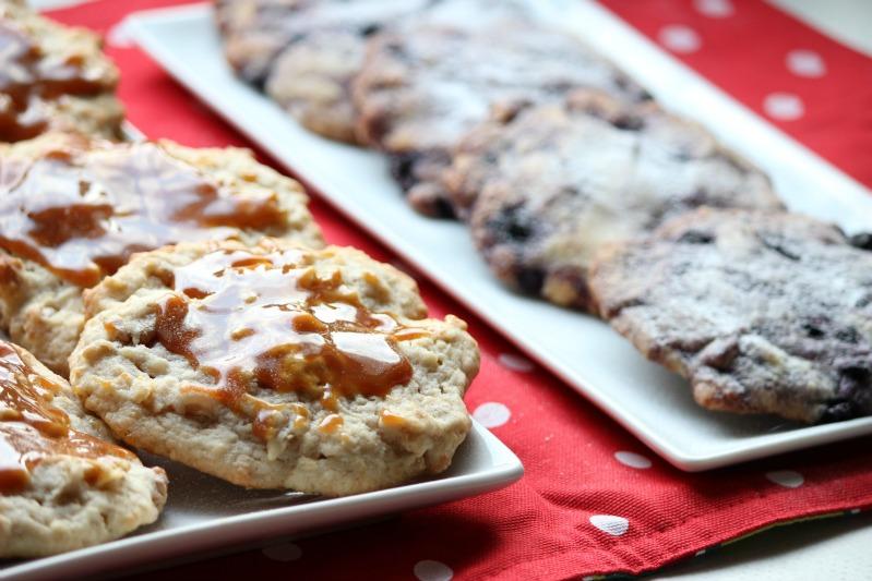 """""""Lecker(e)"""" Cookies - Blaubeere und Banane/Walnuss 15"""