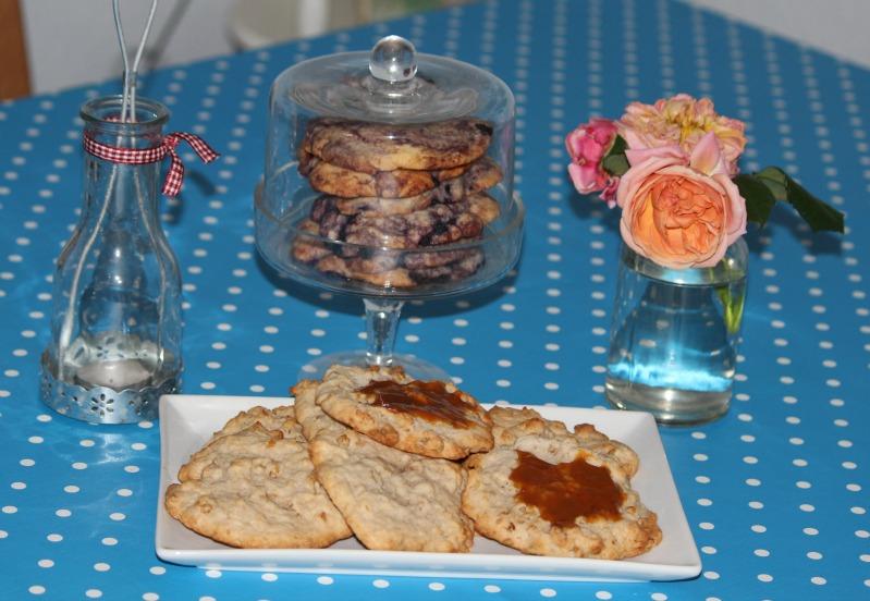 """""""Lecker(e)"""" Cookies - Blaubeere und Banane/Walnuss 20"""