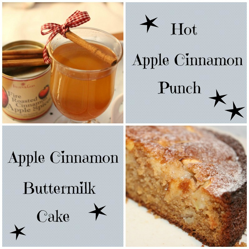 Apple Cinnamon Cake & Punsch 12