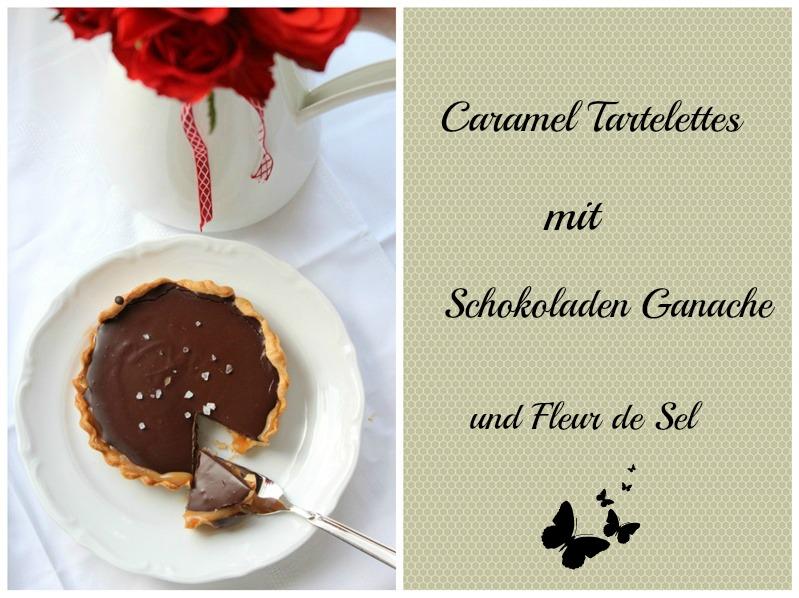 Caramel Tartelettes mit Schokoladen Ganache und Fleur de Sel 15