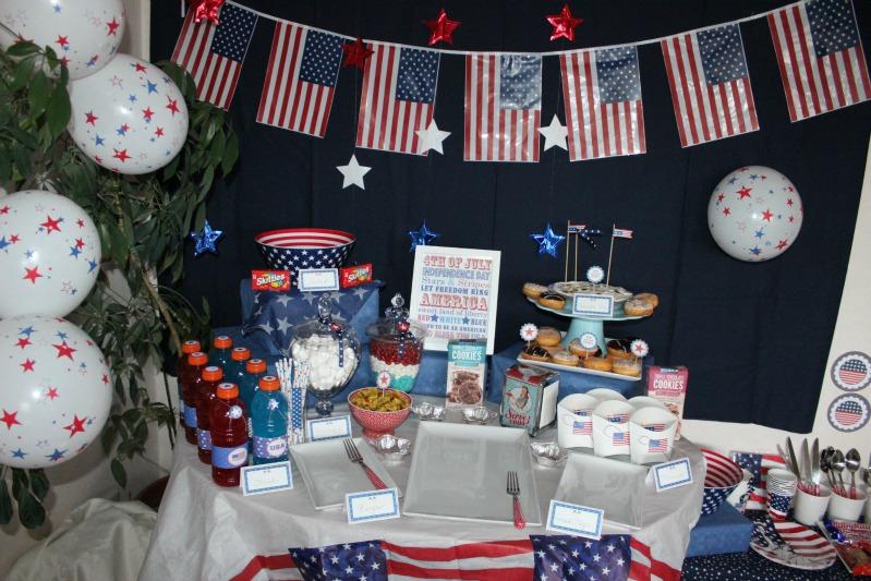 Kreativer Freitag # 1/13 - USA Party 2