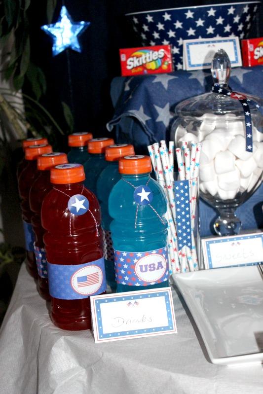 Kreativer Freitag # 1/13 - USA Party 3