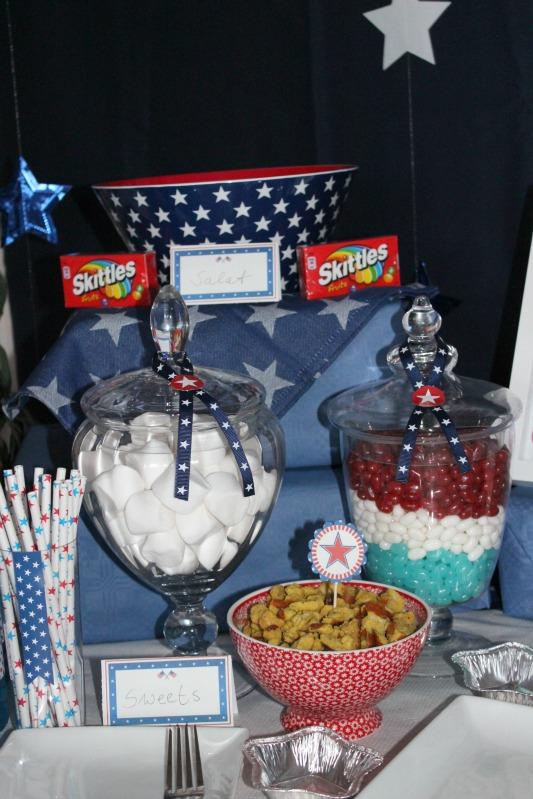 Kreativer Freitag # 1/13 - USA Party 4