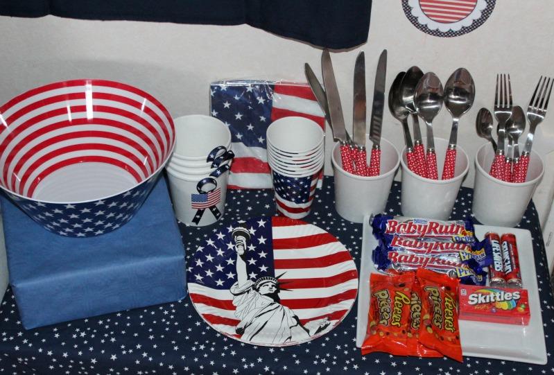 Kreativer Freitag # 1/13 - USA Party 6