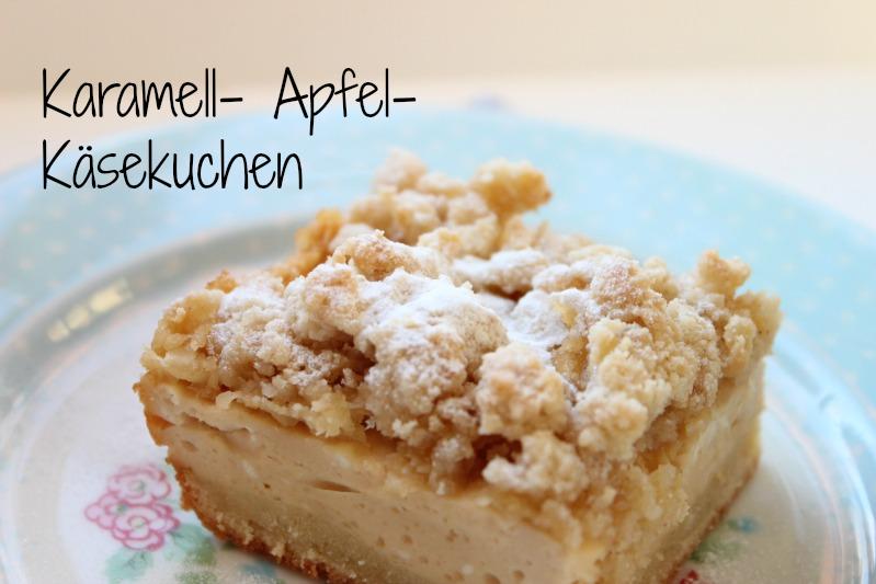 Karamell-Apfel-Käsekuchen 1