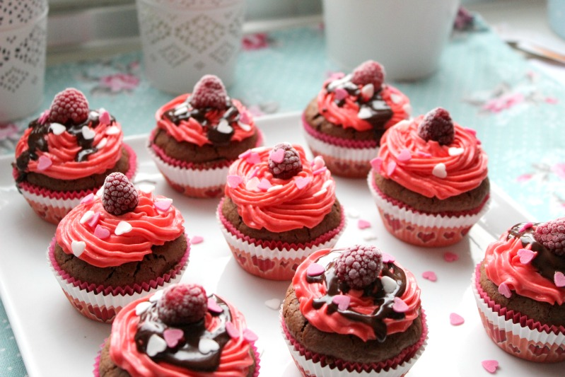 Susse Versuchung Cupcakes Zum Valentinstag Sasibella