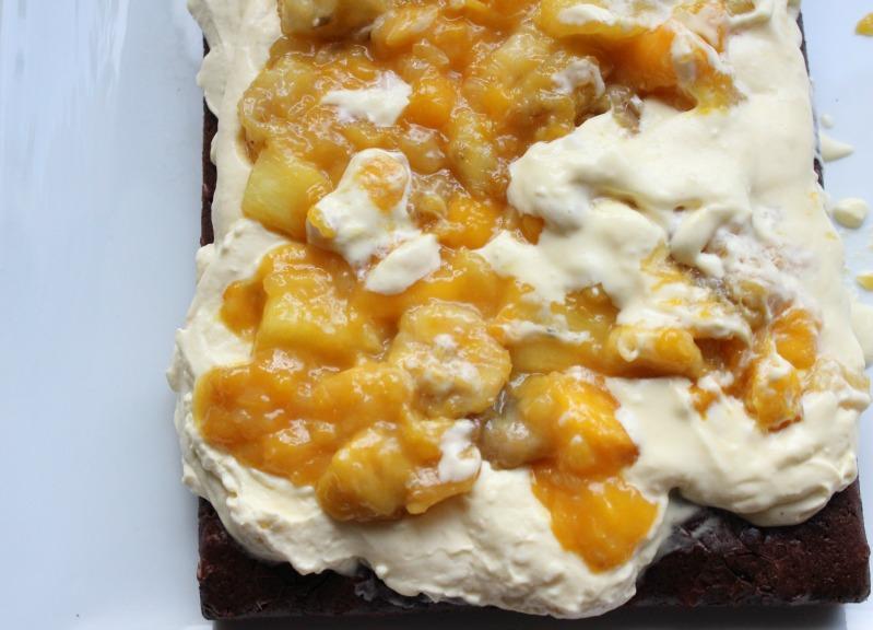 Tropical Brownie Bars + Tropical Dessert 2