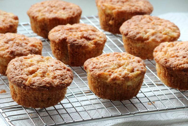 Apfel Karamel Muffins 17