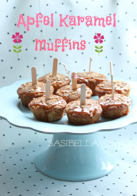 Apfel Karamel Muffins 15