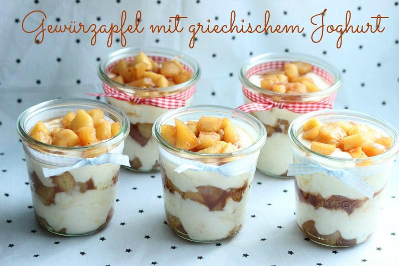 Gewürzapfel mit griechischem Joghurt 11