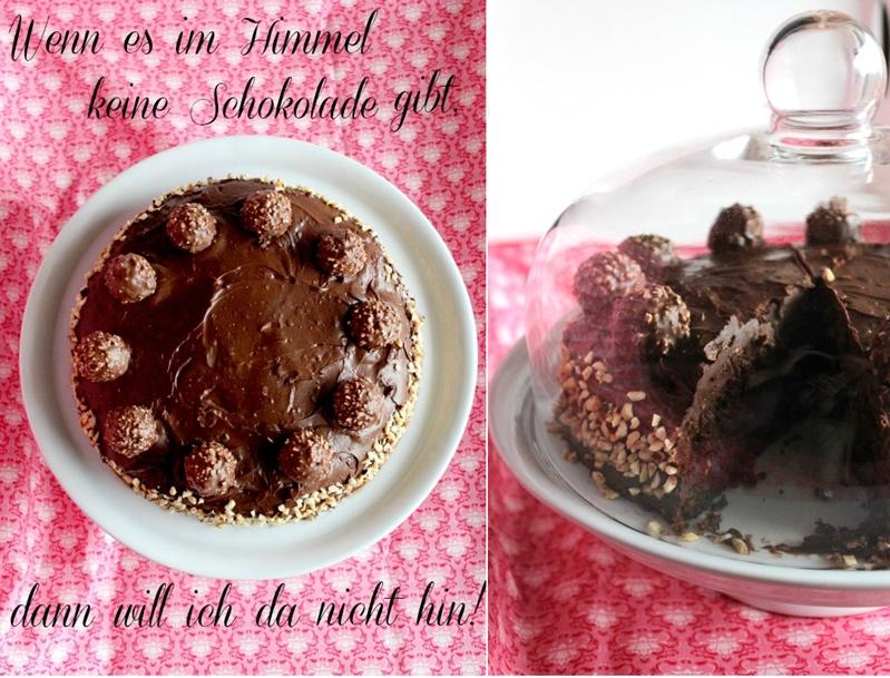 Rocher-Schokoladen Torte 18
