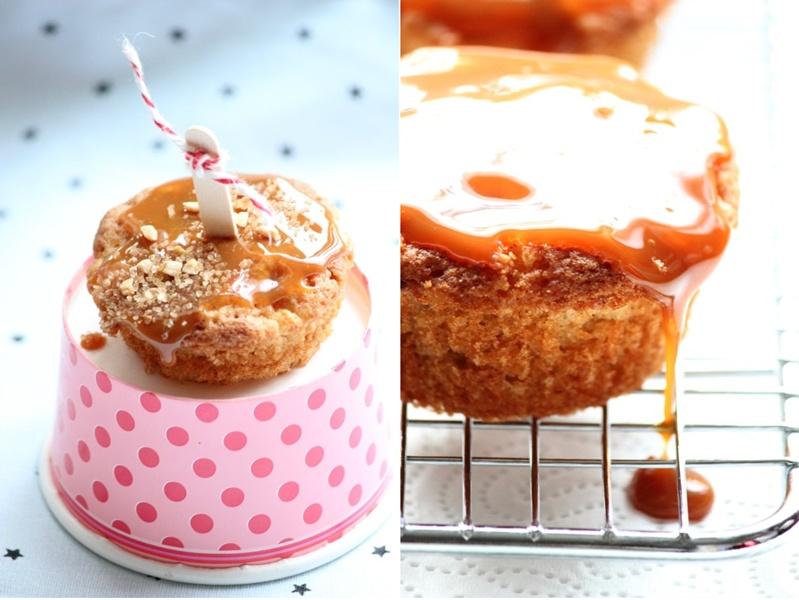 Apfel Karamel Muffins 5