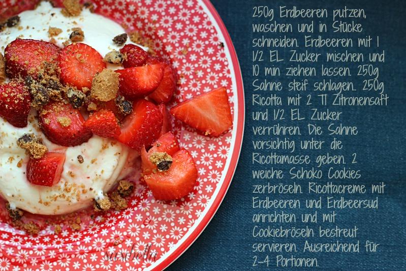 Genuss im Mai mit Bärlauch/Kräuterbutter und Ricottacreme 8