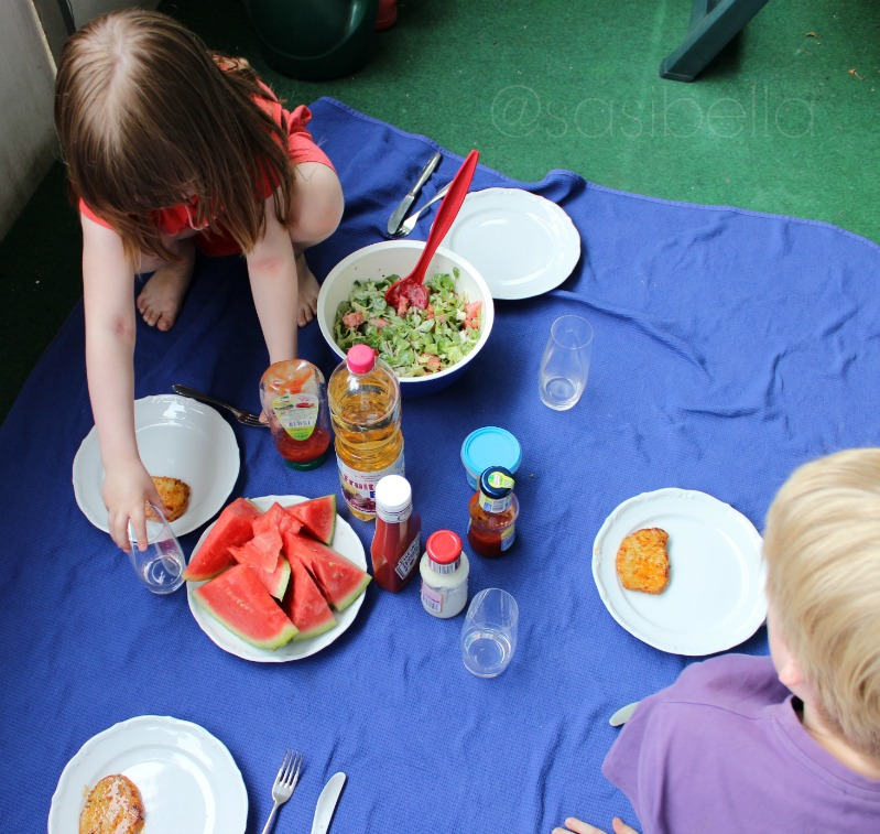 Von lauen Sommerabenden und leckerem Wassermelonensalat! 3