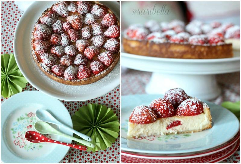 Erdbeer-Ricotta Tarte