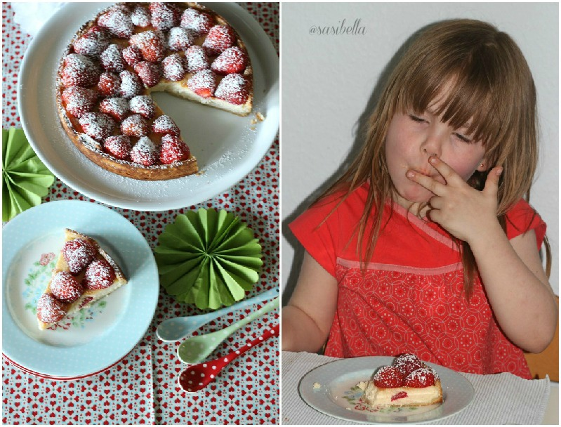 Einfache Erdbeer-Ricotta Tarte 4